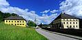 Keutschach 1 Pfarrhof Pfarrkirche und Schloss 31052010 31.jpg
