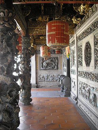 Khoo Kongsi - Hallway at the Khoo Kongsi