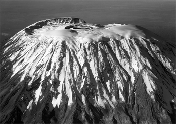 English: January 15, 1938. Mt. Kilimanjaro: Th...