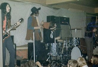 Dagenham Roundhouse - Killing Floor performing at the Roundhouse, 1971
