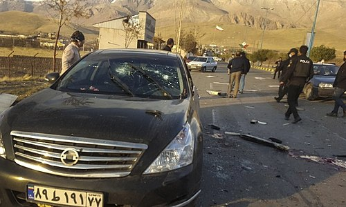 Killing of Mohsen Fakhrizadeh, From WikimediaPhotos