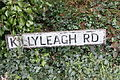 Killyleagh Road sign, Downpatrick, April 2010.JPG