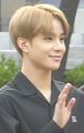Kim Jung-woo going to a Music Bank recording in April 2018 02.png