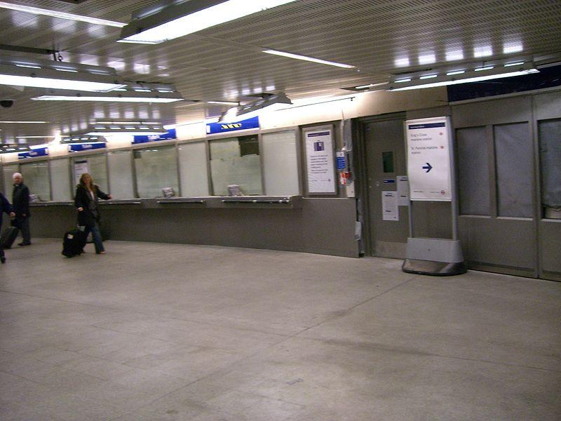 Kings cross st pancras tube station open skyscrapercity - Kings cross ticket office opening times ...