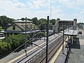 Kingston station from Route 138 overpass.JPG