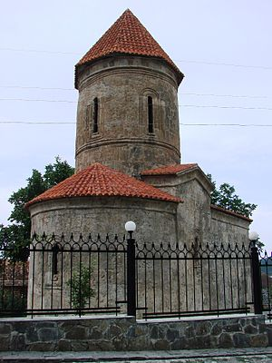 Church of Kish - Image: Kishchurchrearview