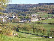 Kloster Grafschaft Fernansicht