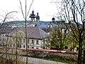 Kloster Schöntal, 1716 Grundsteinlegung unter Abt Benedikt Knittel - panoramio.jpg