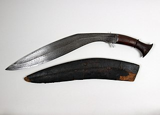 Kukri Type of blade associated with the Gurkha people of Nepal and India