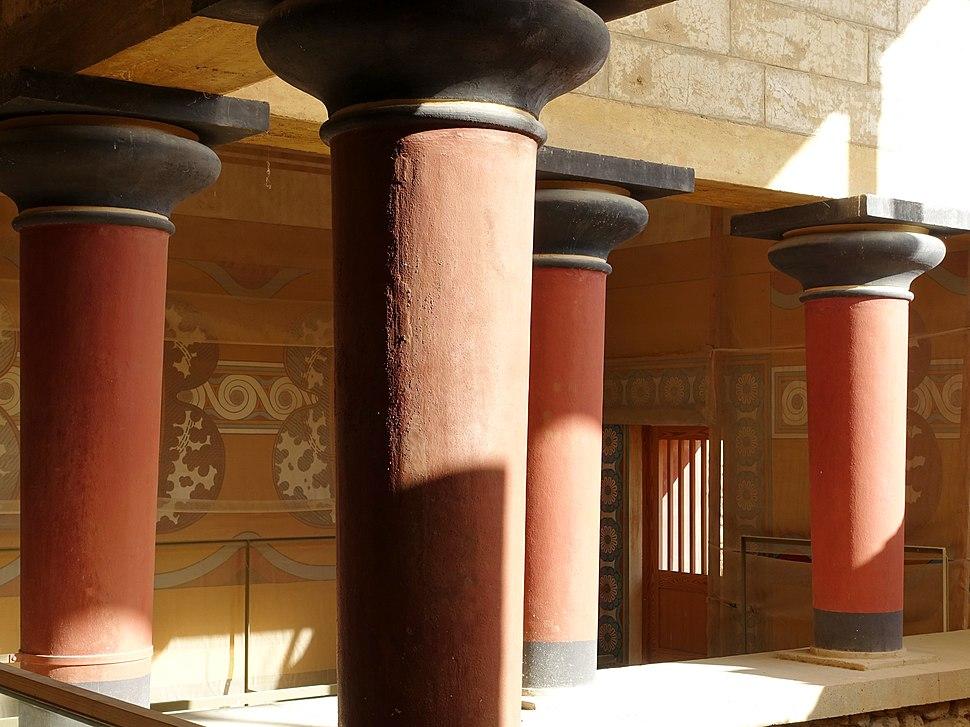 Knossos Großes Treppenhaus 04