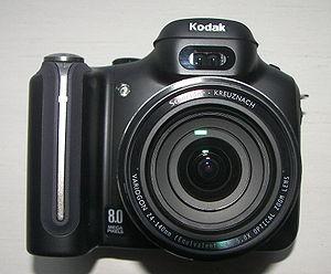 Kodak EasyShare P880 - Kodak EasyShare P880 front view