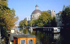 "Singel - The Ronde Lutherse Kerk (""Round Lutheran Church"")"