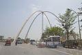 Kolkata Gate Under Construction - Rabindra Tirtha Crossing - Rajarhat 2017-03-30 0849.JPG