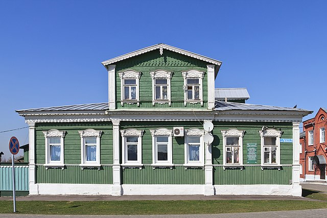 Дом сестры Куприна в Коломне на улице Лазарева, где не раз гостил Александр Иванович