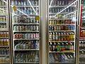 Konbini drink corner 2009 (3819547946).jpg