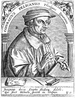 Konrad Pellikan Old Testament scholar