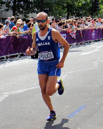 Greece at the 2012 Summer Olympics - Konstantinos Poulios finished eightieth in men's marathon.