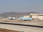 Korean Air Cargo 747 and Antonov An-124 of Volga-Dnepr Airlines (44569494242).jpg