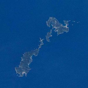 Koshikijima Islands - Image: Koshikijima Islands ISS045