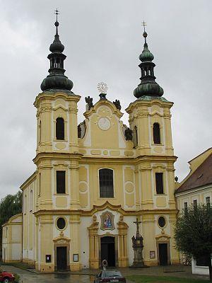 Strážnice (Hodonín District) - Monastery church of the Assumption of the Virgin Mary
