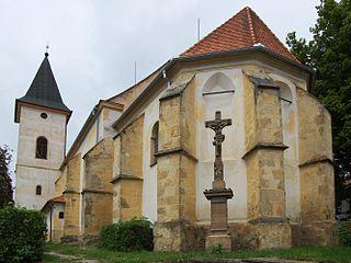 Vémyslice Městys in South Moravian, Czech Republic