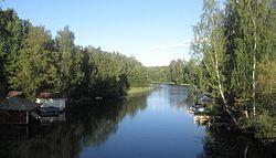 Kostianvirta Onkkaalantien sillalta.jpg