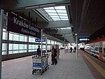Kraków Lotnisko peron.JPG