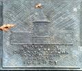 Krakow planty tablica baszta iglarzy z 2001 r A576.tif