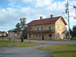 Krokom Train Station in July 2007
