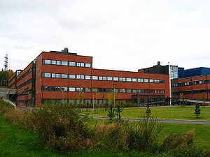 University of Eastern Finland - One of the main buildings, Mediteknia, on the Kuopio campus.