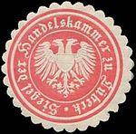 Lübeck, Siegelmarke, Handelskammer (1).jpg