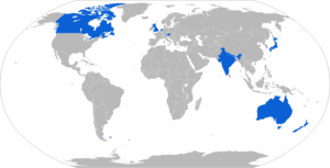 L16 81mm mortar - Map with L16 operators in blue.