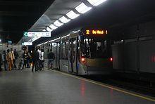 Ligne 32 du tram de bruxelles wikip dia for Garage du midi les vans