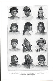 Natives of South America.