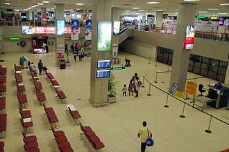 Bandaranaike International Airport - Departures area