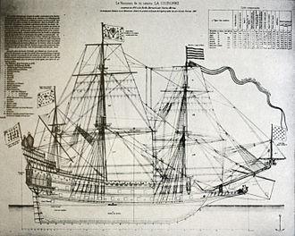 French ship Couronne (1636) - Image: La Couronne mg 0349