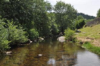 Albon-d'Ardèche - The Glueyre west of the village