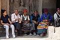 Ladakh pilgrims - Ajantra caves (Maharastra, India) (32886924223).jpg