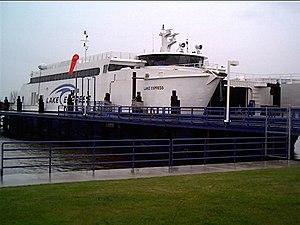 HSC Lake Express - Image: Lake Express at Slip