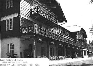Lake McDonald Lodge United States historic place