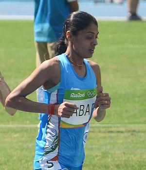 Lalita Babar - Lalita Babar at the 2016 Olympics
