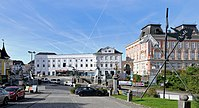 Lambach - Klosterplatz.JPG