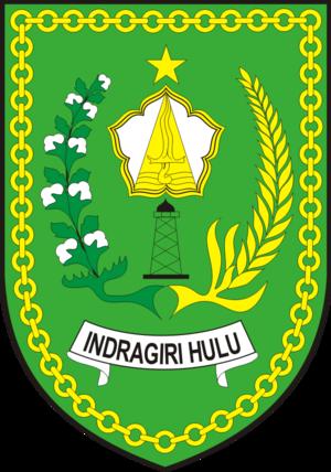 Indragiri Hulu Regency - Image: Lambang Kab Indragiri Hulu