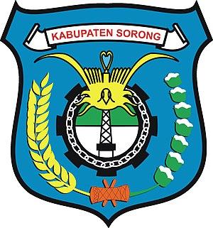 Sorong Regency - Image: Lambang Kabupaten Sorong
