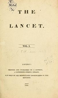 Journal Retracts 16 Year Old Paper >> The Lancet Wikipedia
