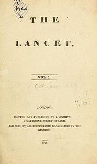 Titelblatt der ersten Ausgabe