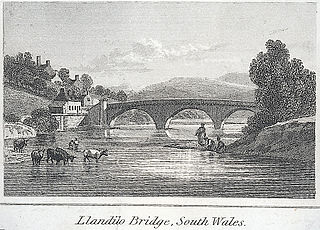 Landilo Bridge, South Wales