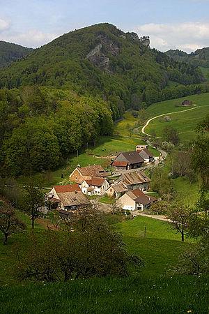Langenbruck - Schöntal area
