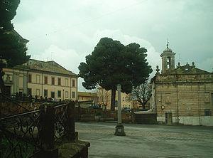 Monte Romano - Image: Lapiazza Dante