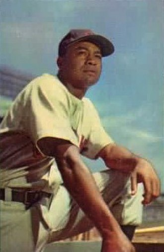 Larry Doby - Doby with the Indians in 1953